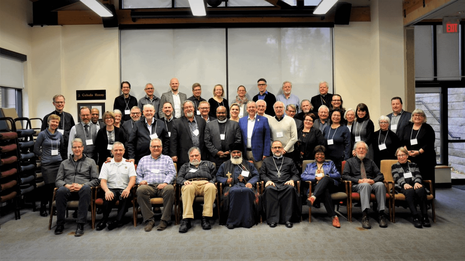 Members and guests present at the November 2019 Governing Board meeting.