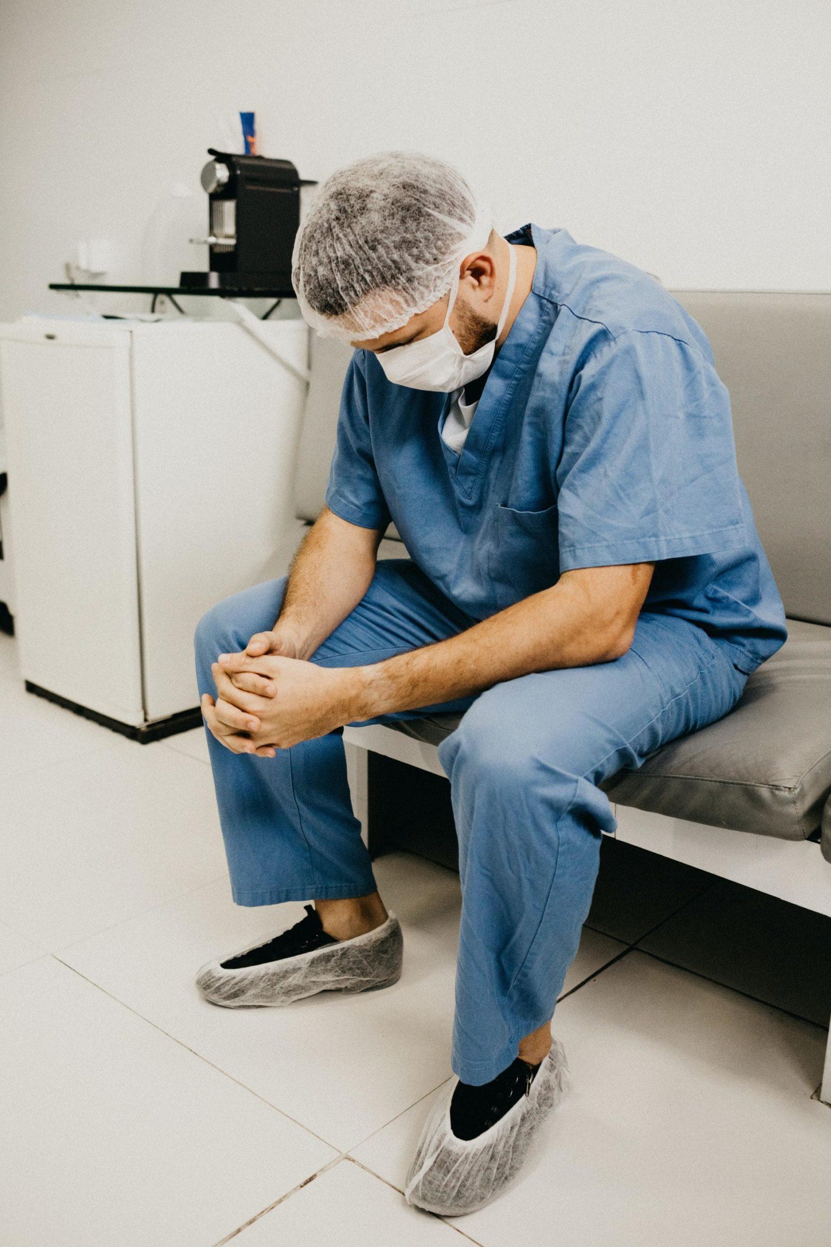 Doctor in prayer