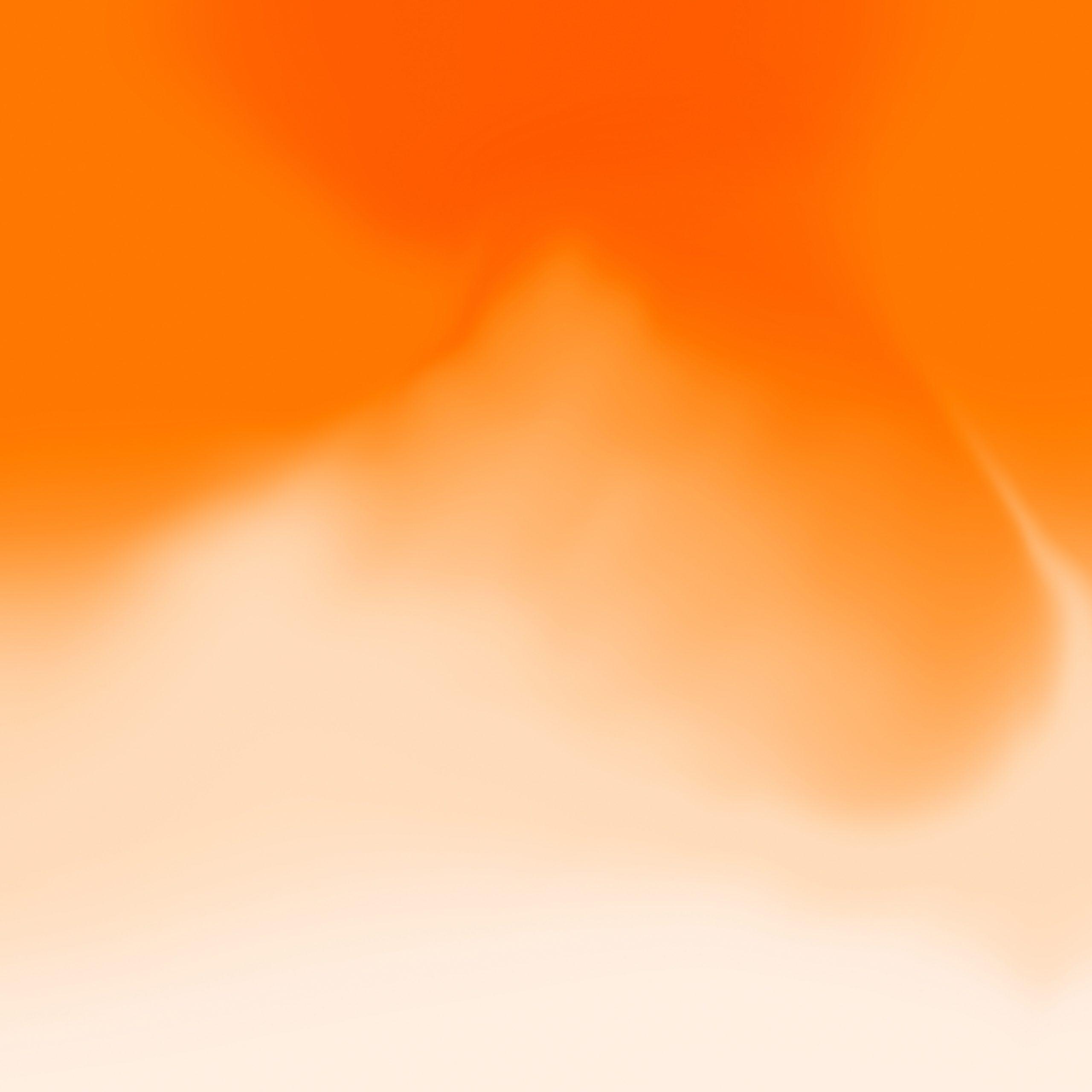 orange screen