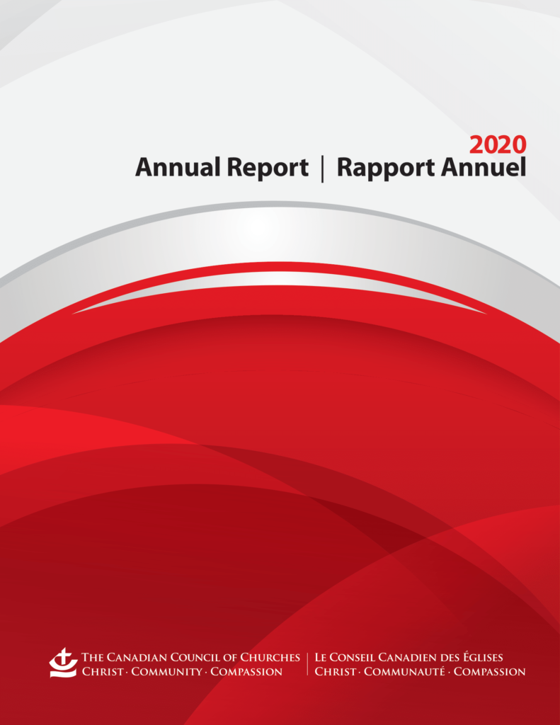 Cover of 2020 CCC Annual Report